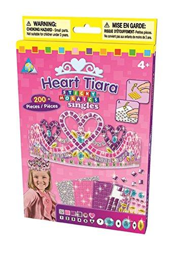 The Orb Factory Sticky Mosaics Heart Tiara Kit ()