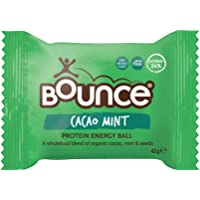 Bounce Cacao Mint Protein Energy Ball - Box of 12 (42g each)