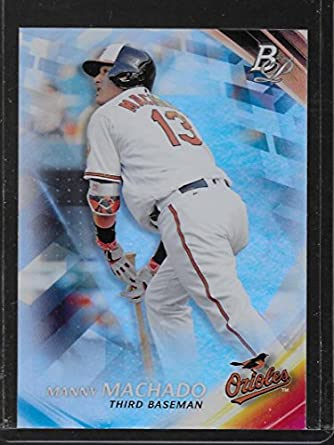 2018 Topps Legends in the Making Blue #LTM-MM Manny Machado NM-MT Orioles