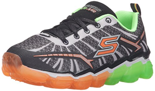 Skechers Boys Skech Air Turbo Shock Fibra sintética Zapatillas