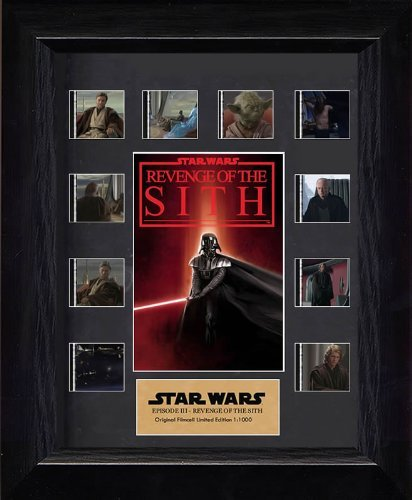 Sith Mini Cell - Japan Import [Decorate the that name scene! ] Star Wars Episode Ⅲ Revenge of the Sith film cell mini-montage (limited edition 1000)