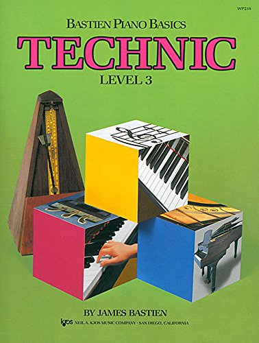 WP218 - Bastien Piano Basics - Technic Level 3 (Wp213) [Jane Bastien - Bastien, Jane] (Tapa Blanda)