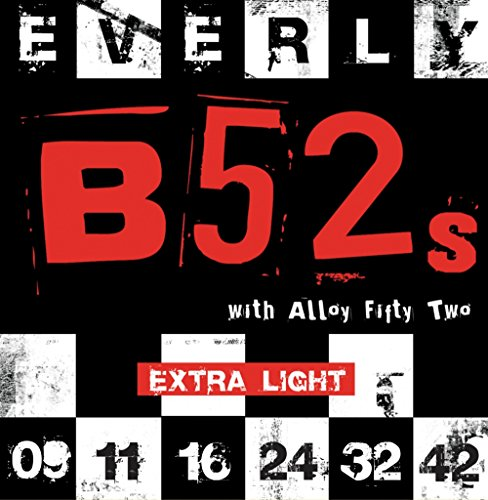 (Everly B-52 Electric Strings .0092-.042 Ultra Light/9209)