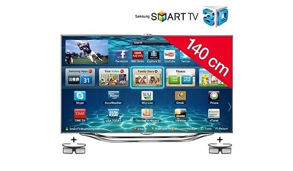 Televisor LED Smart TV 3d UE55ES8000 + activa – Gafas 3d SSG ...