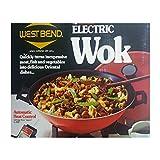 West Bend Electric Wok, Mandarin Red Model 5109