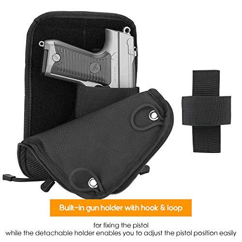 ProCase Pochette de Pistolet, Étui Souple pour la Chasse ou Le Tir, Sac de Rangement Tactique, Fait de Tissu Oxford… 4