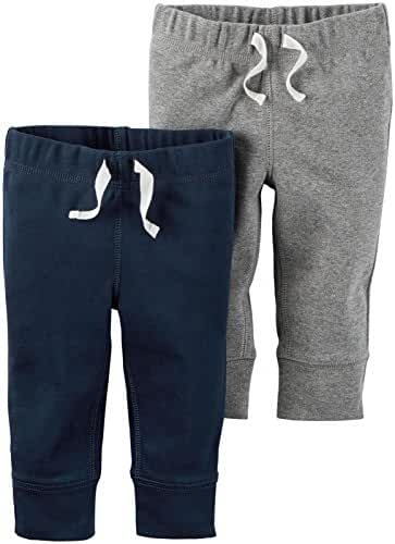 Carter's Baby Boys 2-Pack Drawstring Pants