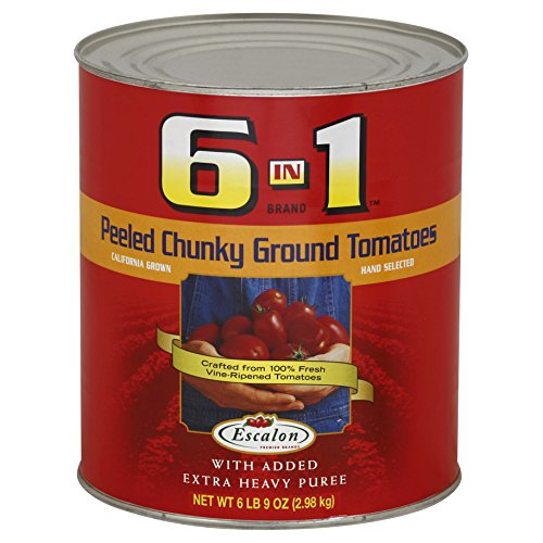 (Heinz 6 in 1 Peeled Chunk Tomato Heavy Puree (6.5lb Can))