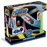 Mindscope Neon Glow in The Dark Twister Tubes Bendable Flexible Tube Toy Set with 10.8 Feet of Tube Track and 1 Tumbler Vehicle Easy Setup & Clean Up