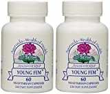 Ayush Herbs Young Fem Herbal Supplement, 60 Count (2)