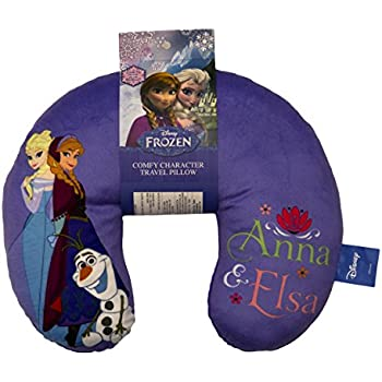Amazon Com Disney Frozen Sisters Anna Amp Elsa Travel Neck