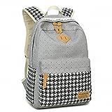Vintage Canvas Women Backpack Schoolbag Cute School Bags For Teenagers Girl ....