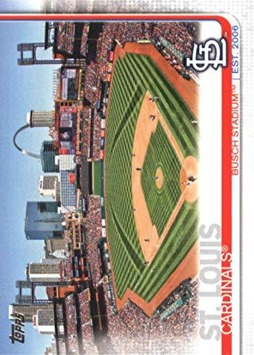 (2019 Topps Baseball #31 Busch Stadium St. Louis Cardinals)