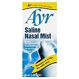 Ayr Saline Nasal Mist, 50 ml by Ayr (Pack of 3)