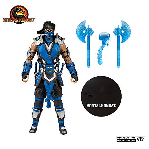 McFarlane Toys Mortal Kombat - Sub Zero Action Figure, Multi from McFarlane Toys