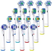 Aufsteckbürsten für Oral B, iTrunk Ersatzköpfe Kompatibel mit Elektrische Zahnbürste Pro 700 Pro 5000 Pro 6500,inklusive...