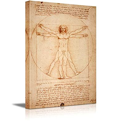 Vitruvian Man by Leonardo Da Vinci, That You Will Love, Grand Object of Art