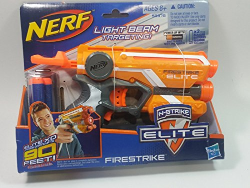 Nerf NSTRIKE ELITE FIRESTRIKE Light Beam Targeting Elite XD Dart Blaster With 3 Foam Darts