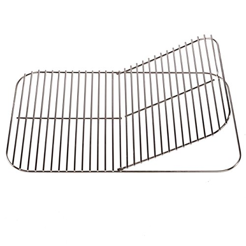 - PK Grills F6-RUKA-E55O Standard Hinged Cooking Grid, Silver