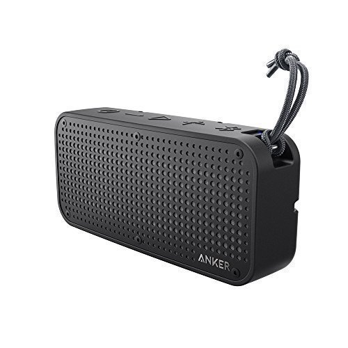Anker SoundCore Sport XL Outdoor Portable Bluetooth Speaker – 16W Output and 2 Subwoofers, IP67 Waterproof Weatherproof Shockproof, 66ft Bluetooth Range, 15H Playtime, Built-in Mic, USB Charging Port