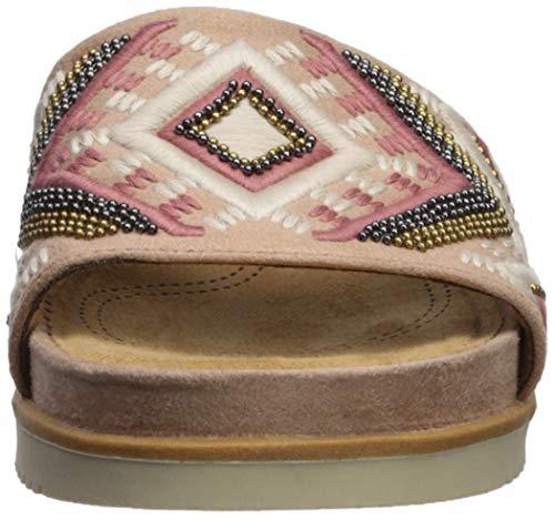 Mauve Mujeres Zapato Talla Soul Destalonado Natural qXAwc5Sw