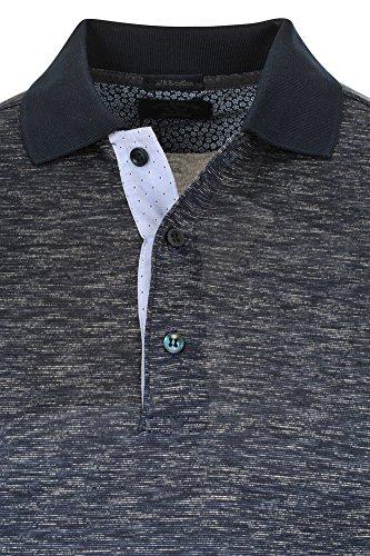 Paul & Shark Polo Poloshirt Herren Dunkelblau Weiß Regular Fit Baumwolle Casual M