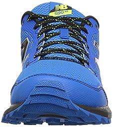 New Balance Men\'s MT590V2 Trail Running Shoe, Electric Blue/Black/Hi Lite, 10.5 D US