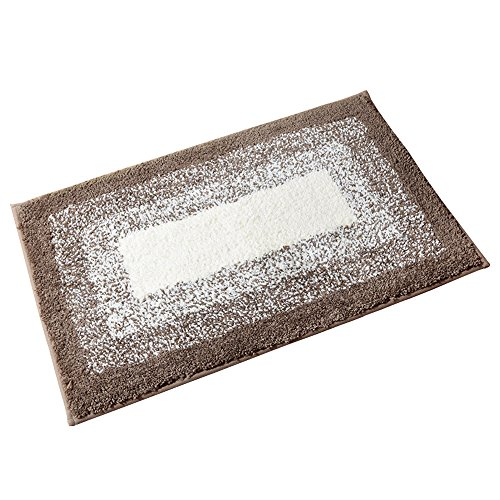 Kitchen Rugs,OFamily Door Rugs with Rubber Backing Non Slip Microfiber Doormat Small Entry Rugs Inside Carpet,19.7-Inch By 31.5-Inch