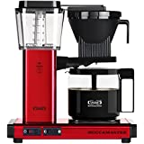 Technivorm Moccamaster 59618 KBG Coffee Brewer, 40 oz, Red Metallic