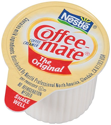 NESTLE COFFEE-MATE Coffee Creamer, Original, 0.375oz liquid creamer singles, Pack of 180