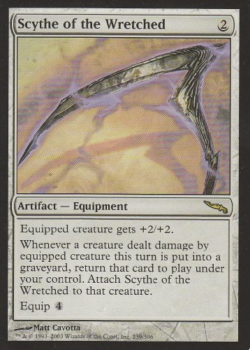 Scythe of the Wretched (Magic the Gathering : Mirrodin #239 Rare)