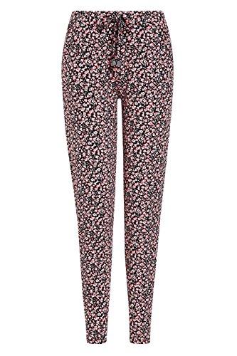 next Mujer Pantalones De Chándal Punto Reg/Largo Rosa Estampado Ditsy
