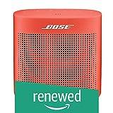 Bose SoundLink Color Altavoz Bluetooth (Negro) (Renewed), Rojo Coral, Una Talla