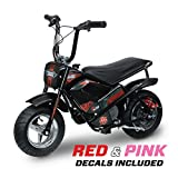 Monster Moto 250 Watt Electric Mini Bike - MM-E250-PR