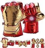 FAIRZOO Iron Superheros Gauntlet Smash Hands Fists