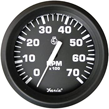 51WxDMYgI L._SL500_AC_SS350_ amazon com dress white omc system check tachometer automotive Auto Meter Tach Wiring Diagram Wires at bayanpartner.co