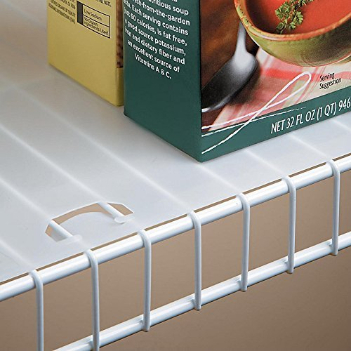 """Shelf Liner for 16"""" Wire Shelving with Locking Tabs - 10 ..."""