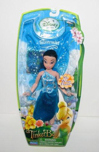 Playmates Disney Fairies Pixie Hollow SILVERMIST (Blue Dr...