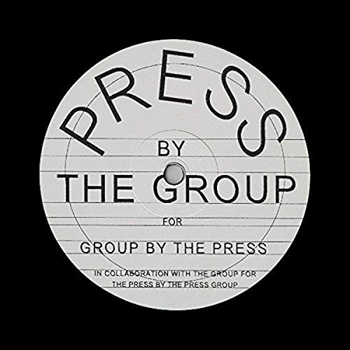 Vinilo : VARIOUS ARTISTS - Press By The Group (12 Inch Single)