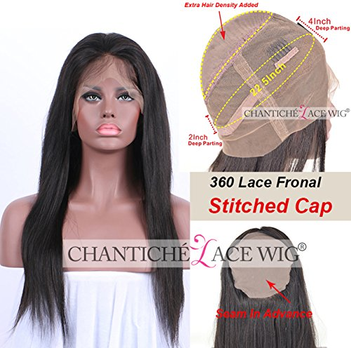 Chantiche Straight Frontal Brazilian Lace