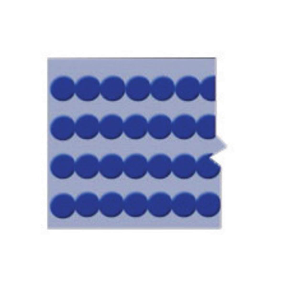 Brady 1/4'' Blue Quik-Dots Vinyl Wire Marker