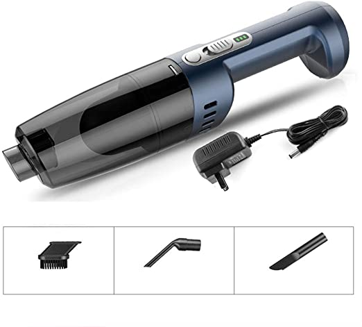 VIVIAN YANG Aspirador De Coche, Sin Cable12v 120W Potente 5000Pa ...