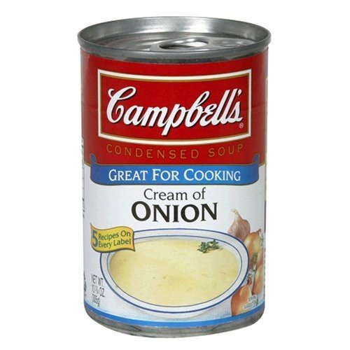 - Campbell's Cream of Onion Soup, 10.5oz Cans (Pack of 6)