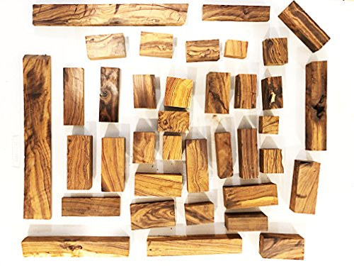 Exotic Ironwood Blanks 15 Pound Box  Random Assortment Of Beautifull Ironwood Cutt Offs  Great For Small Projects  Including Intarsia  Woodturning And More