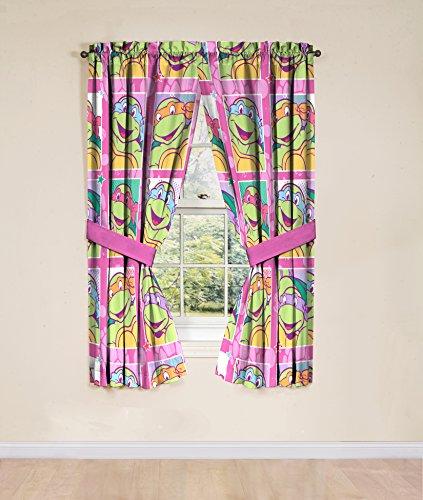 ninja turtle curtains girl - 5