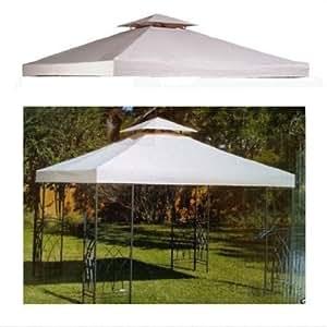 Apontus Replacement Canopy Top 10' x 10' Two-Teir, Tan