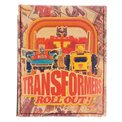 Transformers Rollout Sublimated Print Anniversary Bi-Fold Wallet
