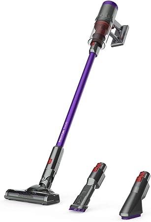 PRIXTON Thor - Aspiradora/Aspirador sin Cable para el Hogar de 11Kpa Aspirador Vertical y de Mano 2 en 1, 650 ml, Filtro Hepa, Incluye Cepillo Motorizado y Boquilla para Esquinas: Amazon.es: Hogar