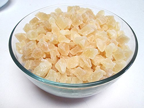 Naturla Dried Diced Pineapples, Low Sugar No Sulfur (Natural Dices, no SO2), 3 LB