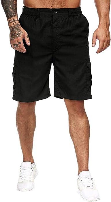 Pantalones Cortos Hombre Verano Casual Moda Deporte Running ...